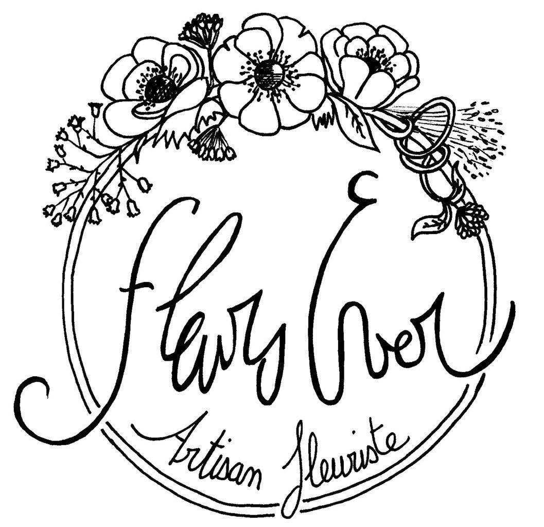 Logo pour un flowers truck