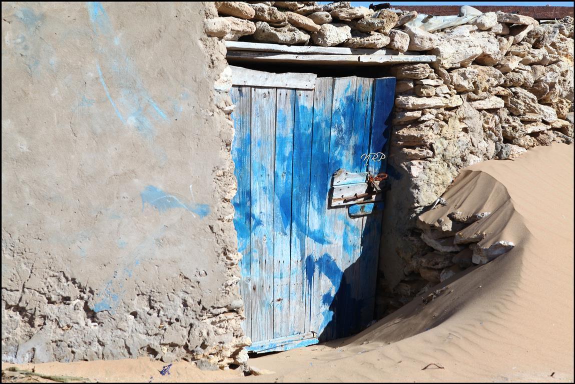 La porte bleue du désert
