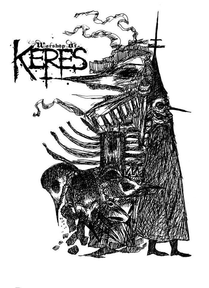 WORSHIP OF KERES- 'Bloodhounds For Oblivion'