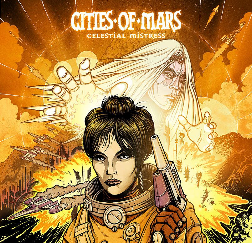 CITIES OF MARS- 'Celestial Mistress'