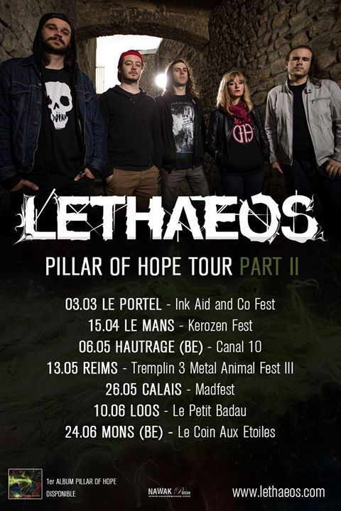 LETHAEOS- PILLAR OF HOPE TOUR