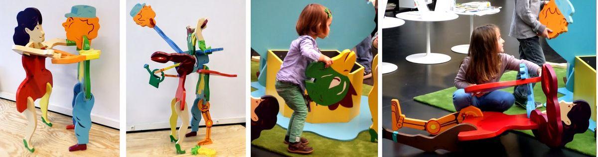 26 juillet: Dimanche au bord de l'eau au Temps des Cerises, jeu avec le centre de création à l'enfance – Maison de la poésie de Tinqueux