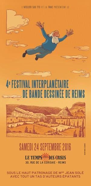 Le Festival Interplanétaire de la Bande Dessinée de Reims édition IV