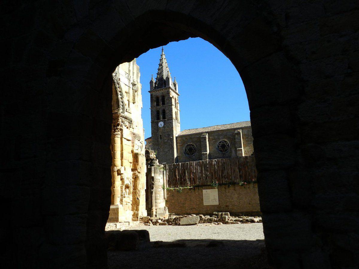 Alet les bains, son ancienne abbaye