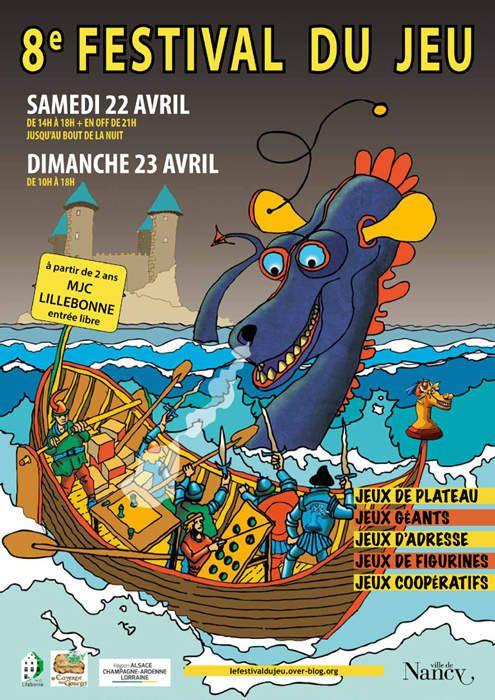 8ème Festival du Jeu