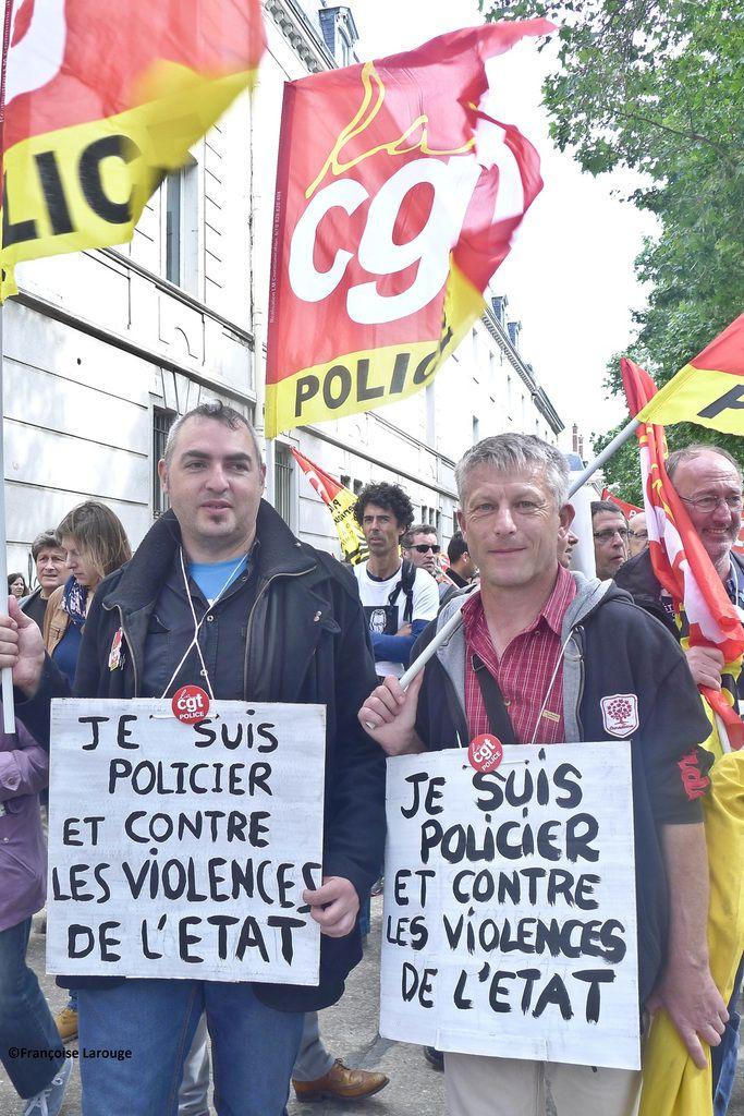 Manifestaion du mardi 14 juin à Paris