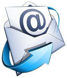 Envoi de nos communications par mail