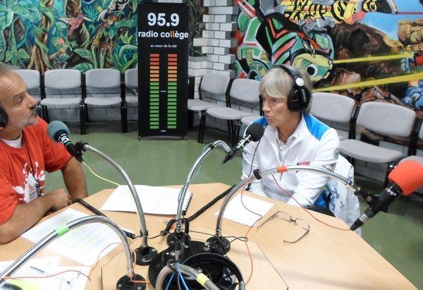 Claire FOUNTAINE était l'invitée de la 121ème émission de radio Notre Transat