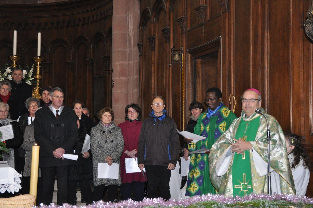 Album - Visite pastorale Mgr KRATZ 23 - 24 janvier 2016