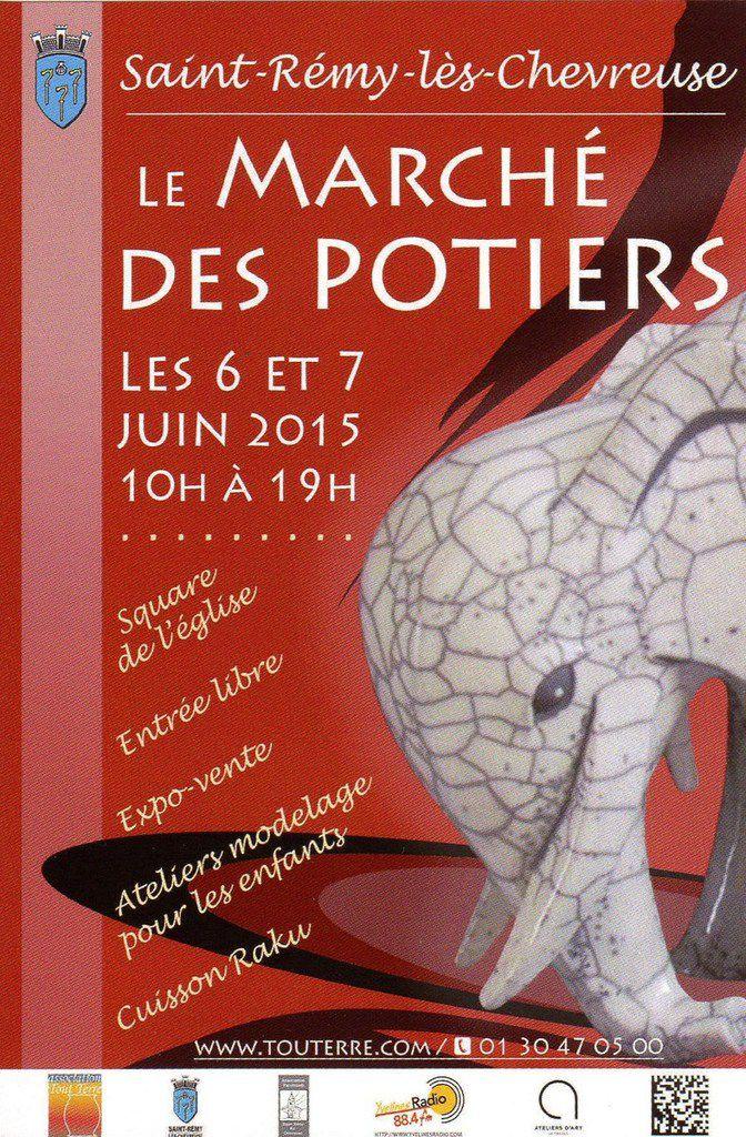 Le Marché des Potiers - 6 &amp&#x3B; 7 juin 2015 - Saint-Rémy-lès-Chevreuse