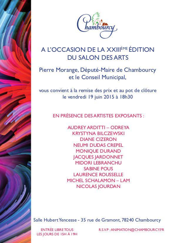 Salon des Arts - du 13 au 21 juin - Chambourcy