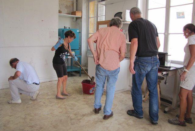 Nettoyage de l'atelier - 26 Août 2015