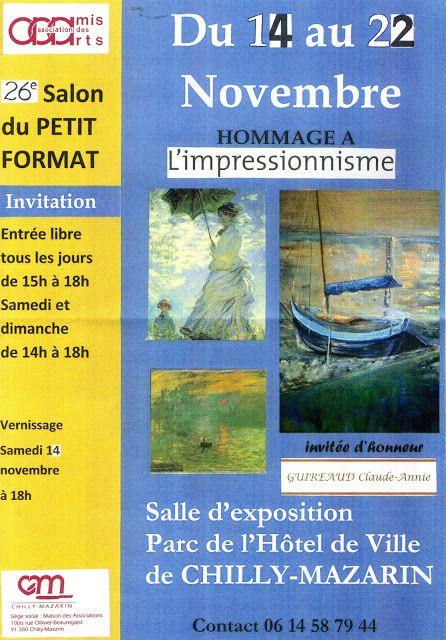 26e Salon du Petit Format - 14 au 22 Novembre - Chilly Mazarin