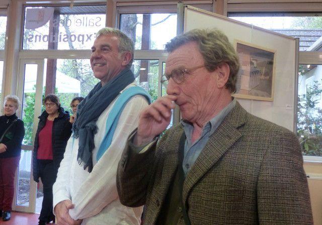 """Photos prises lors du vernissage de l'exposition """"Nativelle'Art"""" à Longjumeau  - Michèle S."""