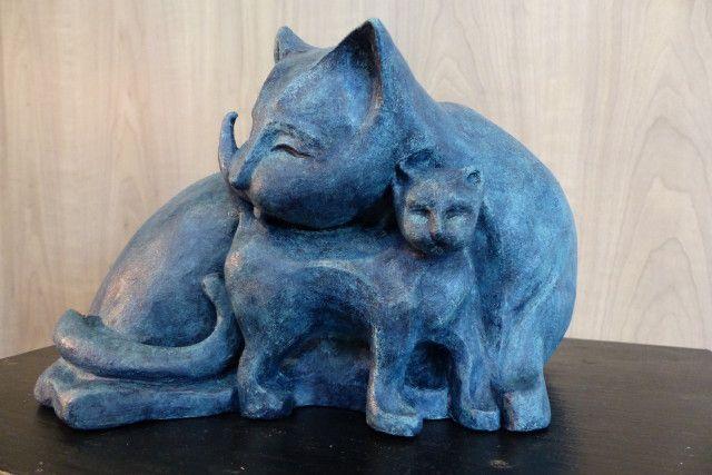 Les sculptures!