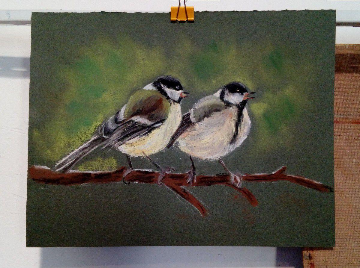 le groupe de pastel vole de ses propres ailes! sujets individualisés sur le thème des oiseaux!
