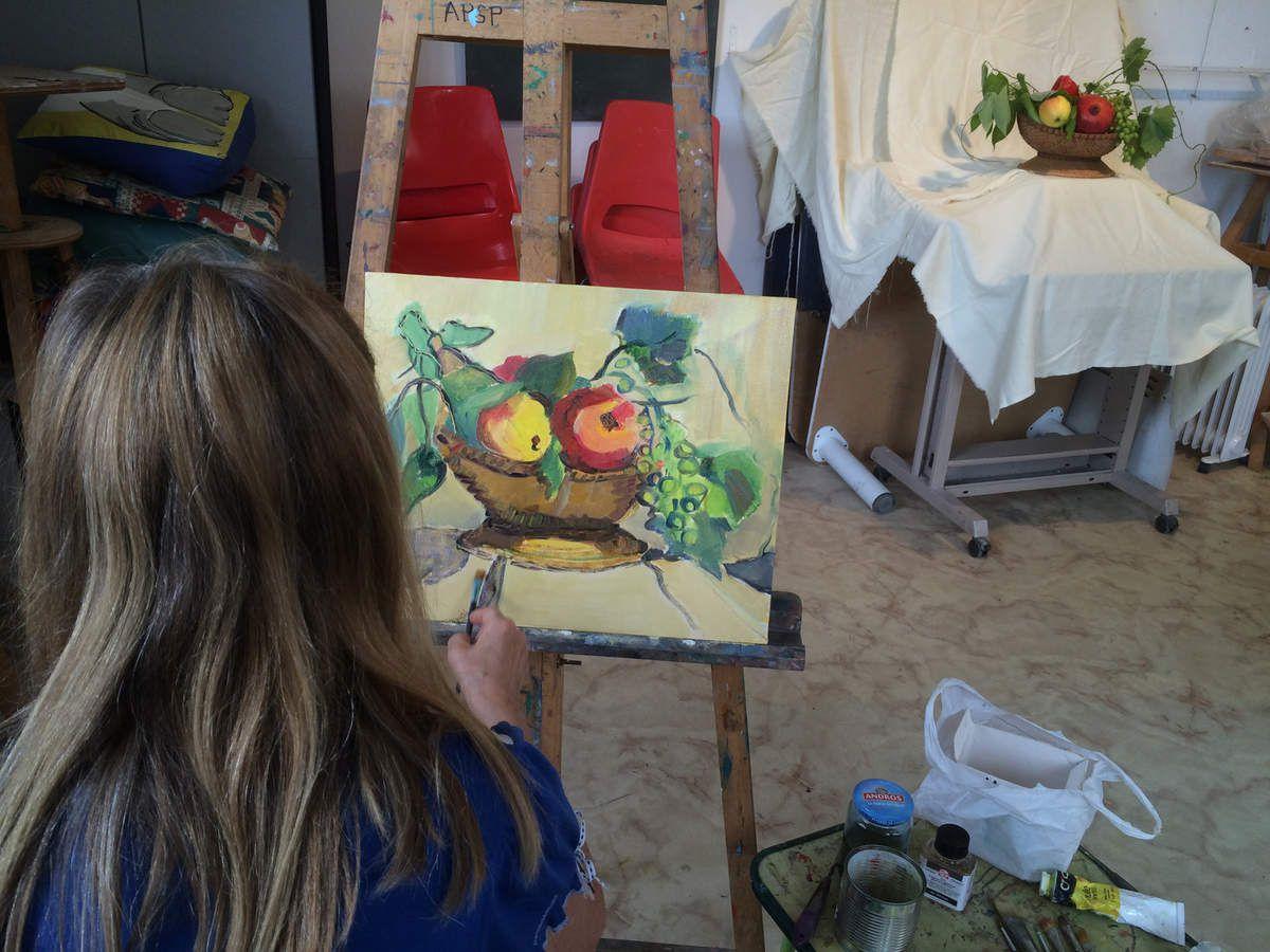 A partir du célèbre tableau du peintre Le Caravage, une expérience intéressante....