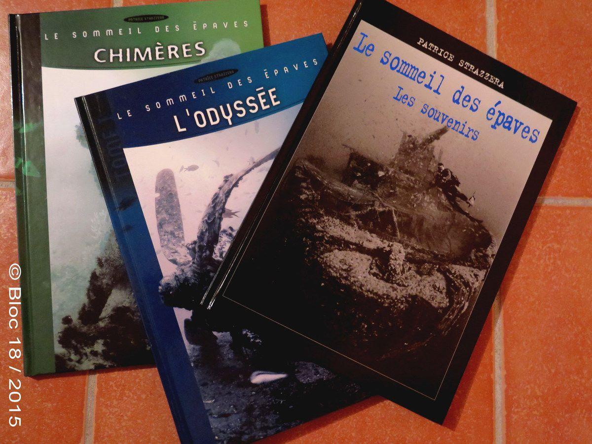 Lectures underwater : Le Sommeil des Epaves
