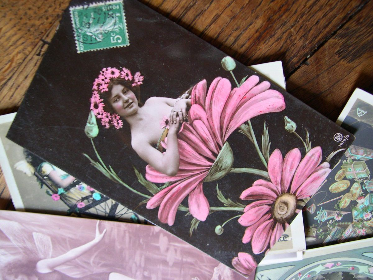 Carte postale fantaisie