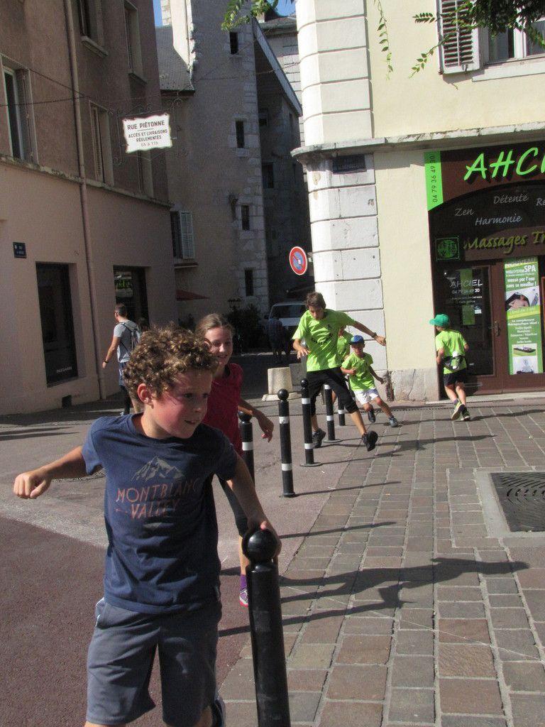 Entraînement à Chambéry le 10/09/16