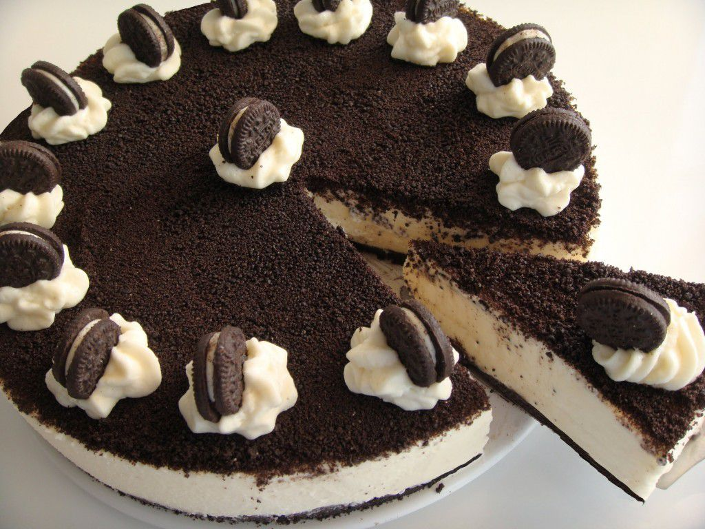 decoration gateau oreo