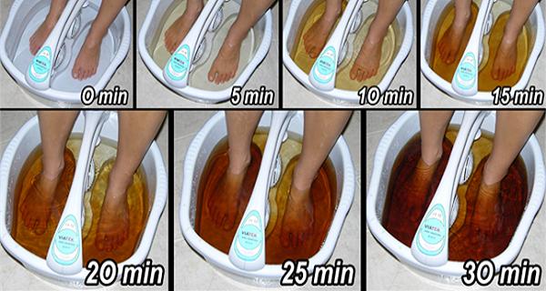 bain pour les pieds fait maison