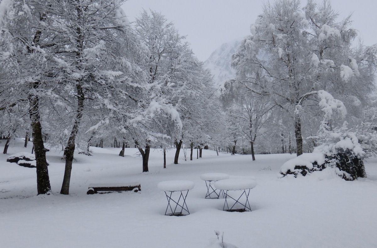 Lescun sous la neige