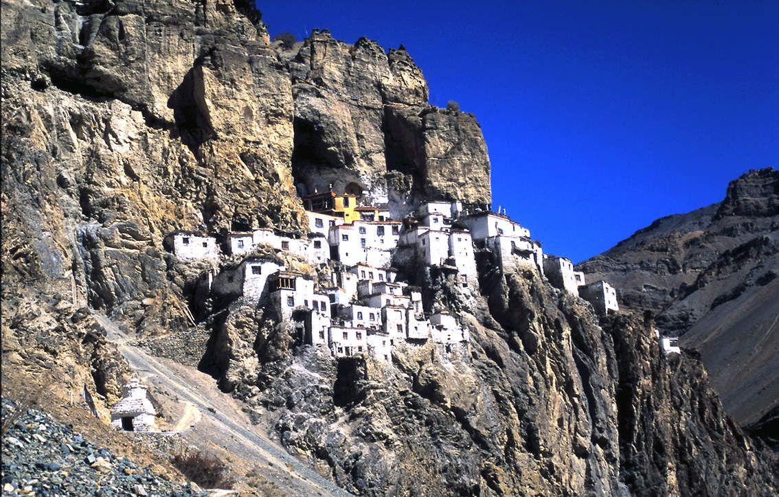 Monastère de Phuktal (Zanskar)