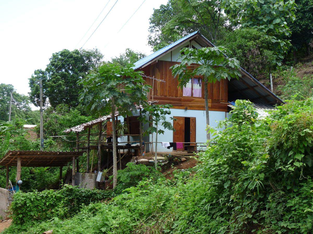 Pai : notre pension, les villages et paysages environnants / séance détente (ou pas ;-)