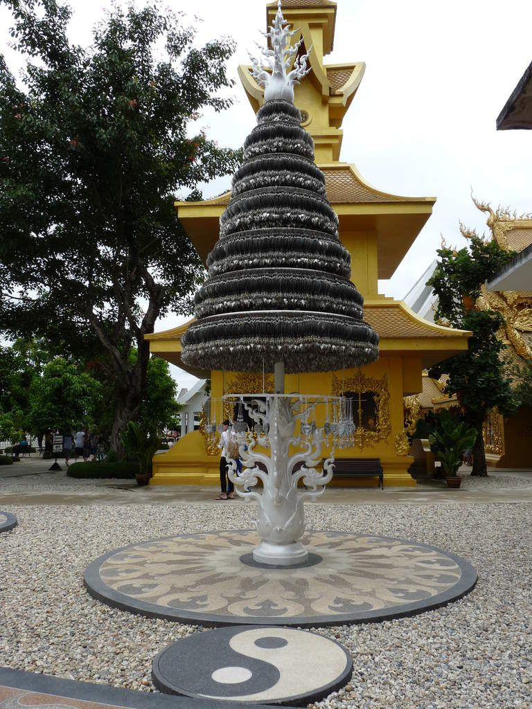 Wat Rong Khun ou Temple blanc