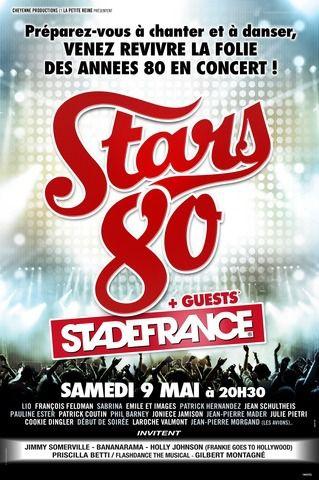 Les Stars 80 vont enflammer le Stade de France