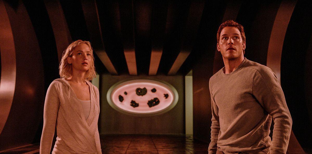 Passengers avec Jennifer Lawrence et Chris Pratt