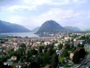 Lugano_(Ticino)_View_on_Lake_Lugano_and_Monte_San_Salvatore