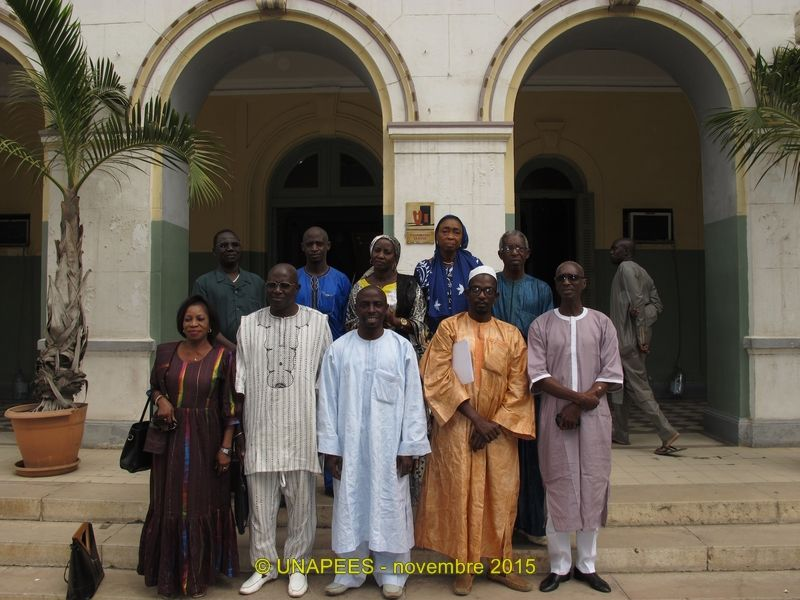 Préparation de l'Assemblée Générale du département de Dakar.