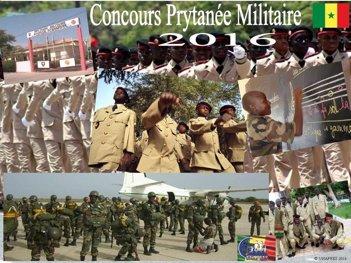 Concours d'entrée au Prytanée Militaire de Saint-Louis 2016