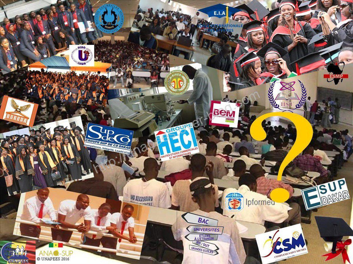 Annuaire des Écoles Privées Partenaires du MESR