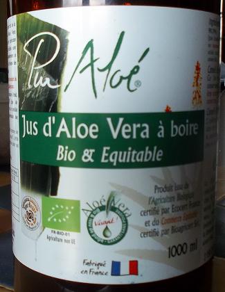 Faire du gel d'Aloe vera à partir du jus (à boire) - Le