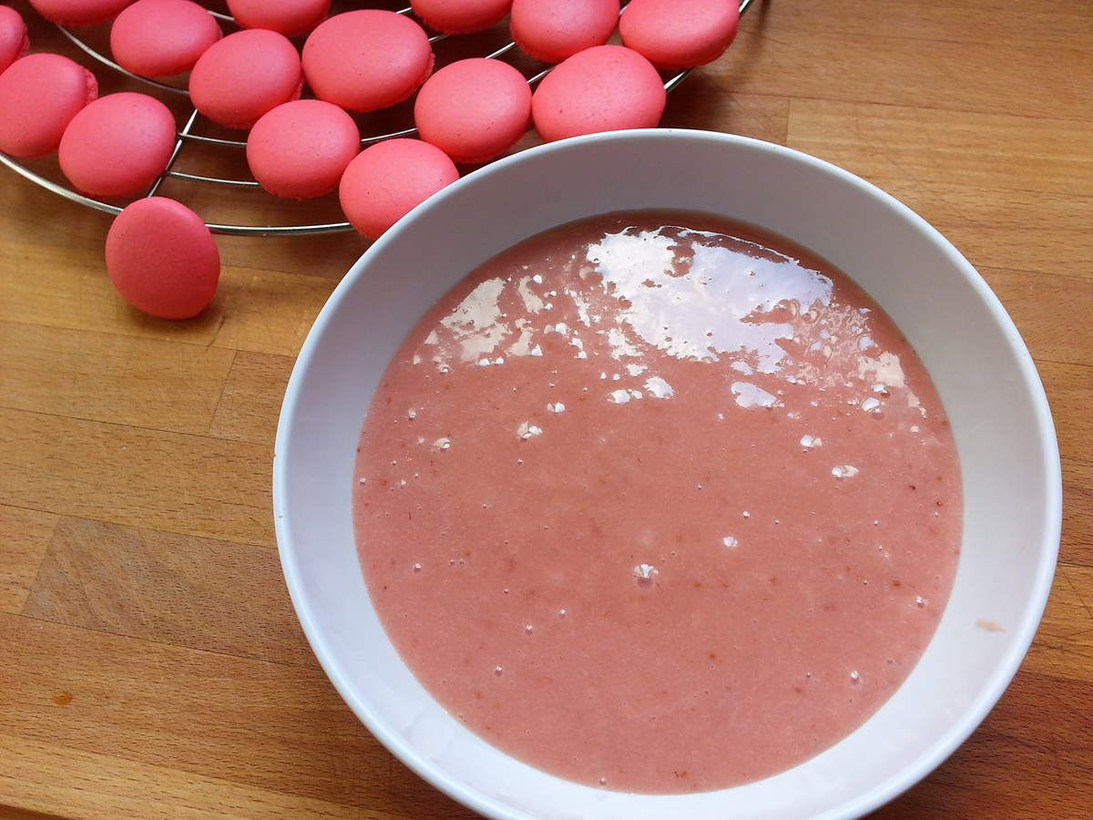 La ganache à la fraise