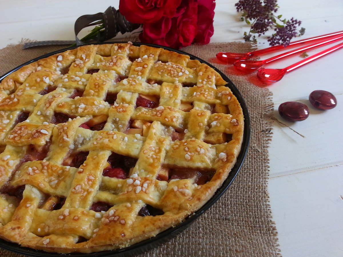 Cherry et apple pie