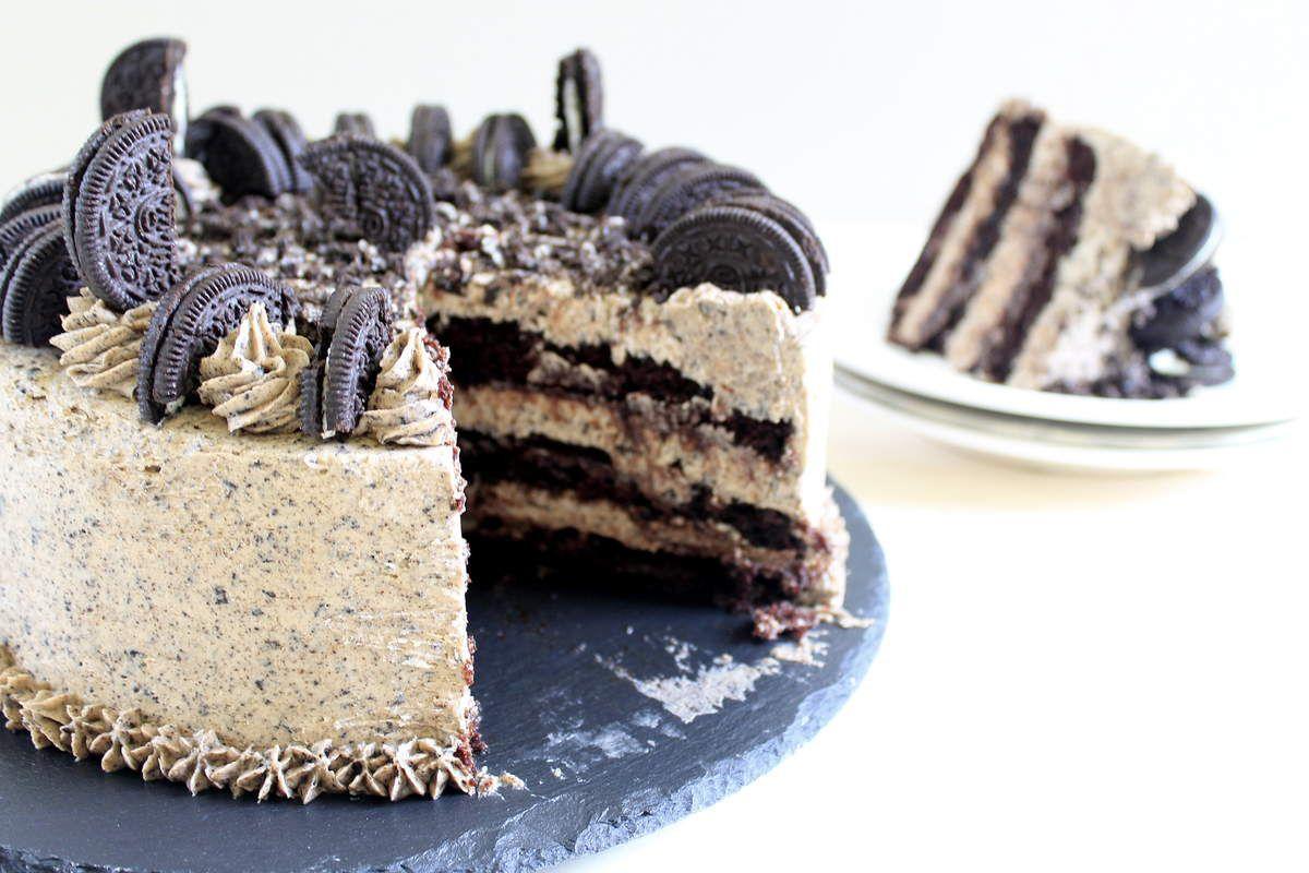 Birthday cake à l'Oréo