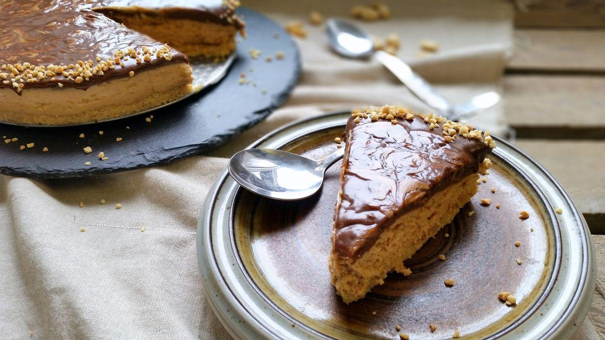 Cheesecake au beurre de cacahuète et chocolat