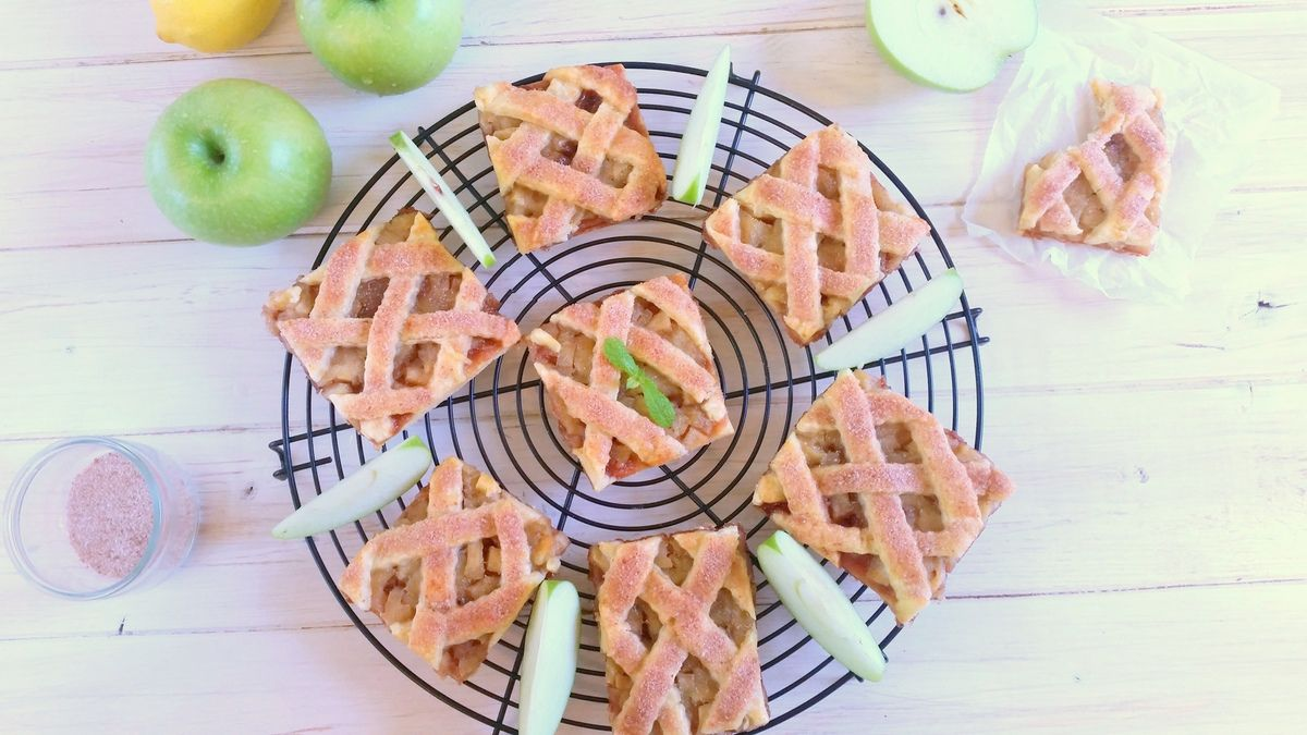 Cookies façon apple pie