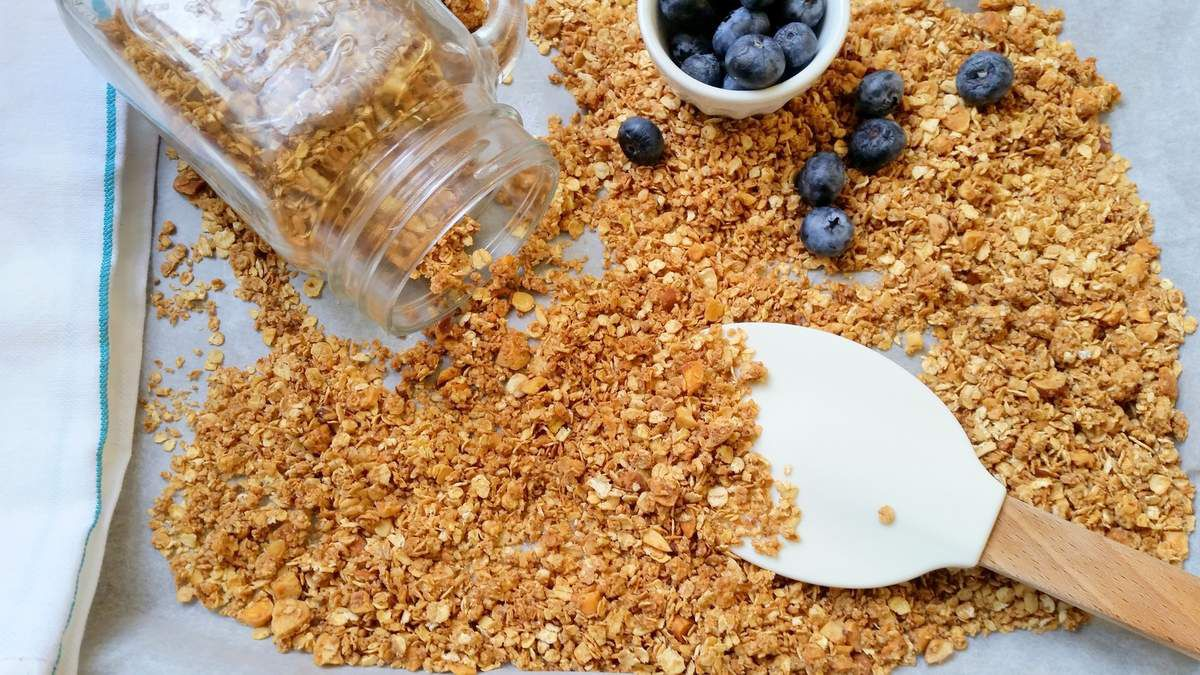 Granola au miel et noix