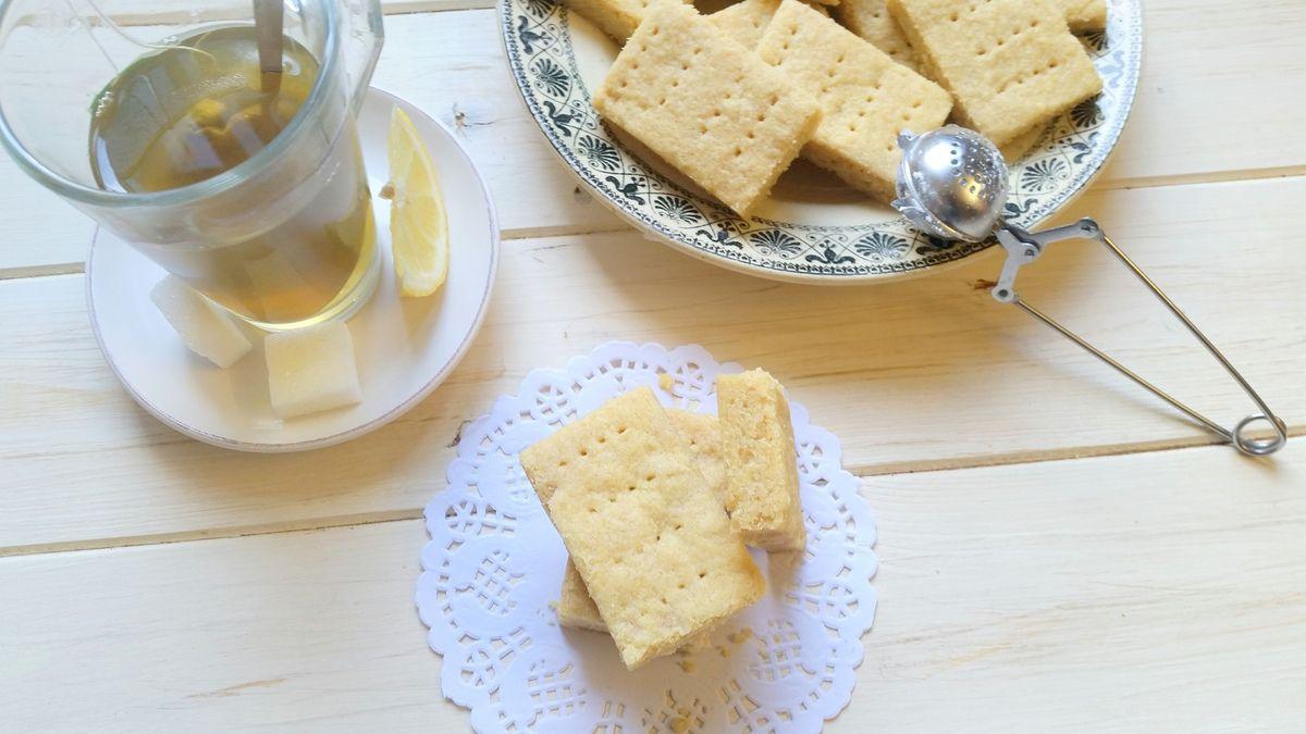 Biscuits shortbread à la vanille