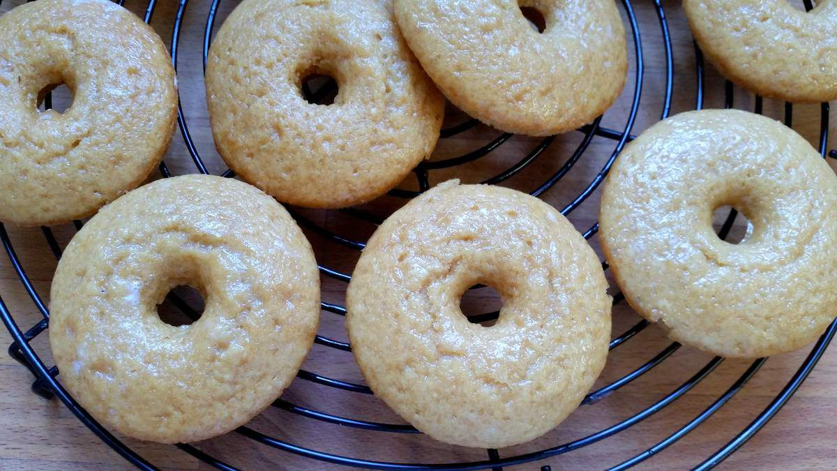 Donuts des Simpson à la vanille