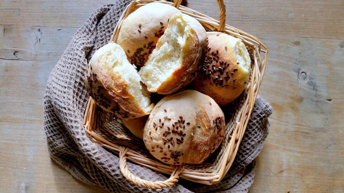 Petits pains aux graines de lin