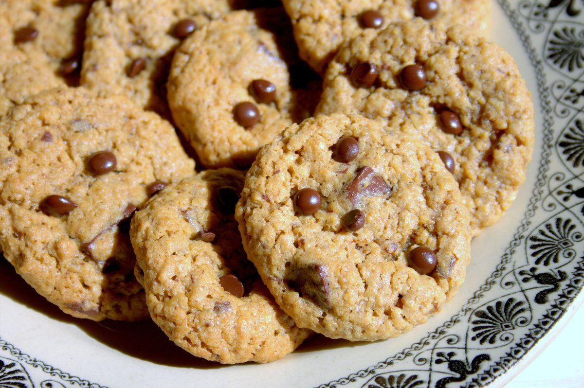 Cookies à la pâte speculoos et chocolat