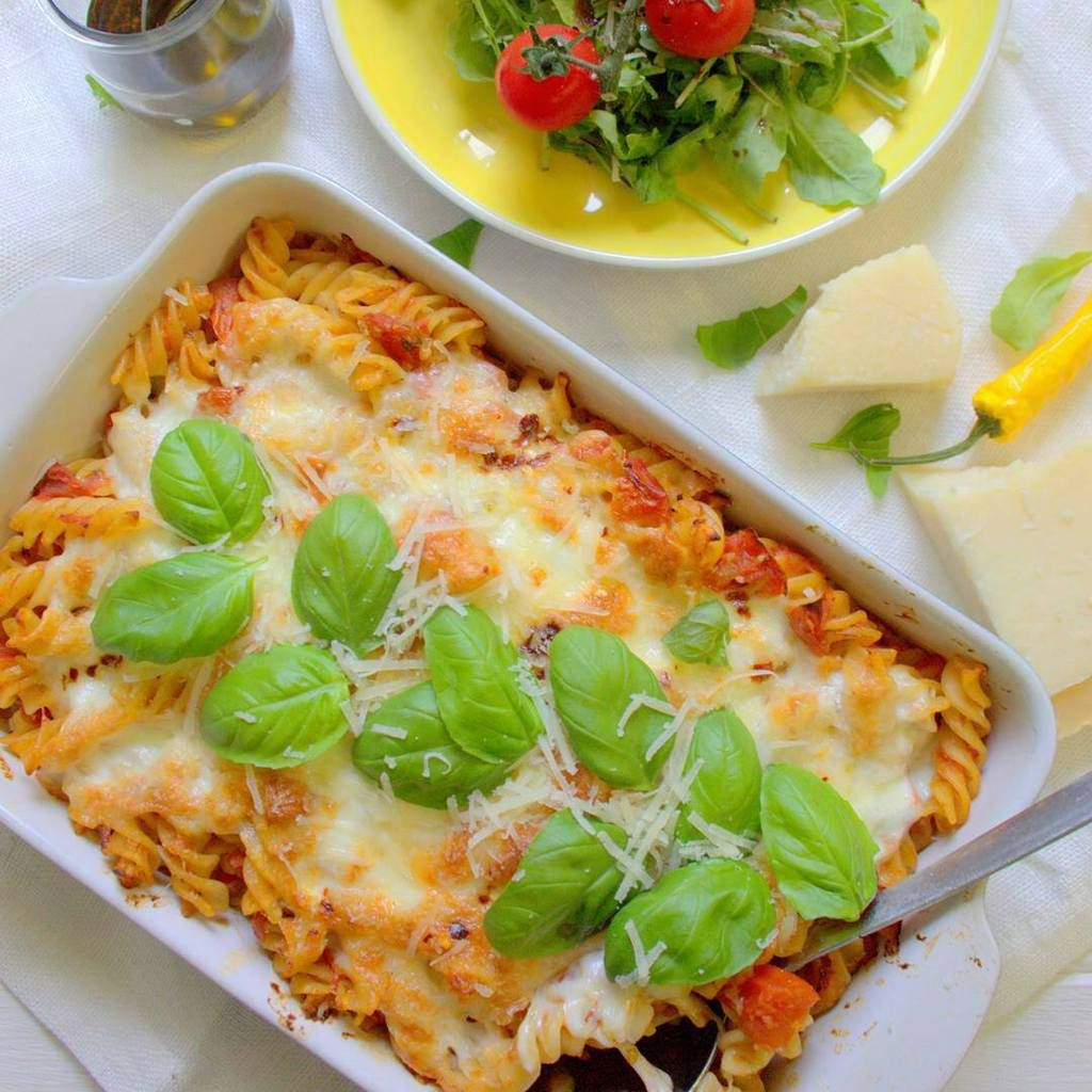 Pasta al forno (végétarien)