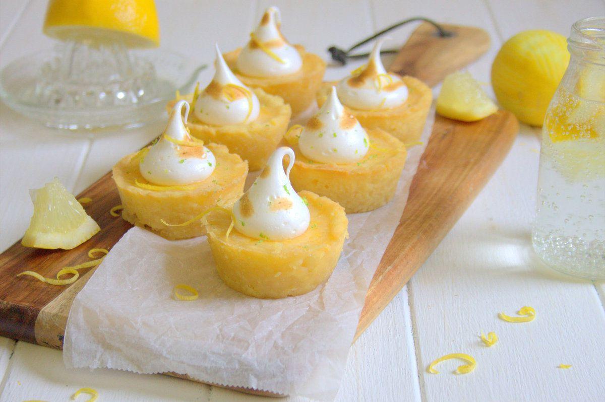 Mini tartelettes au citron meringué