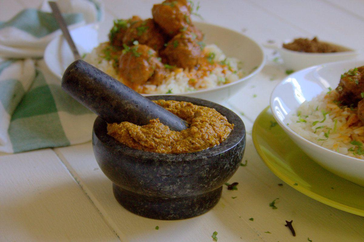 Boulettes de viande à la sauce massala